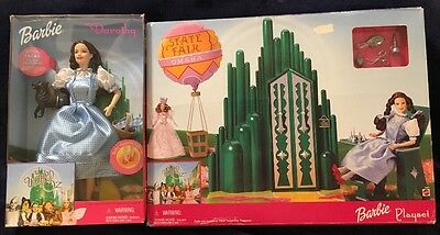 Barbie The Wizard Of Oz Play Set and Barbie As Dorothy The Wizard Of Oz Doll Set