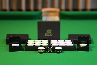 Taom Chalk Genuine Snooker and Pool Chalk Made in Finland, Chesworth Cues