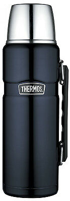Thermos Stainless King Flask with Handle 1.2 Litre Noir