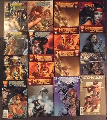Witchblade...lot of 16 Dynamite & Top Cow Comics