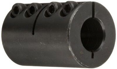 Climax Part ISCC-062-050 Mild Steel, Black Oxide Plating Clamping Coupling, 5/8