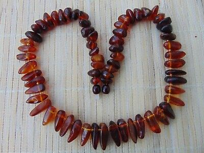 Natural Genuine Natural Baltic Cognac red cherry Honey Amber beads Necklace