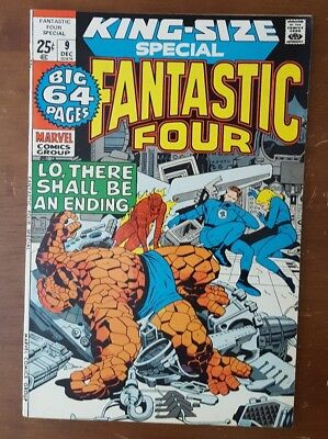 Fantastic Four Annual #9 - King-Size Special 64 Pages - 1971