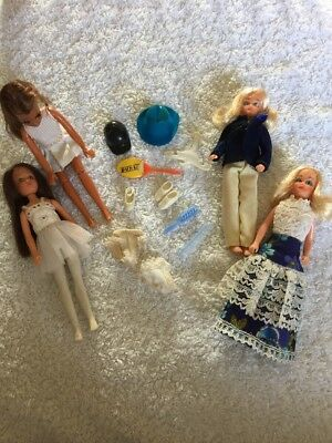 4 Pippa Dolls And Accessories