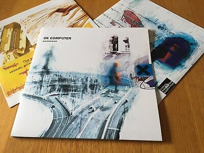 Radiohead - Ok Computer - 1997 Double Lp With Inner Sleeves Uk First Press Ex