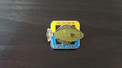 "Alaska ""for the halibut"" pin"
