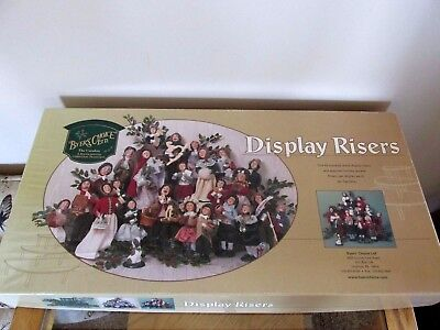 Byers Choice Carolers Display Risers - 3-Tier In Box