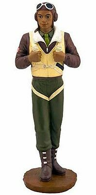 """Tuskegee Airman Figurine NEW (16931) African American 12"""" Tall  WW2 Red Tail"""