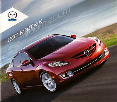 2011 11 Mazda 6 Series Original sales brochure MINT