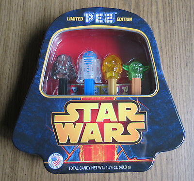 PEZ STAR WARS BOXED SET - Unopened Limited Edition