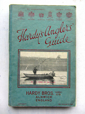 Hardy's Angler's Guide 55th Edition 1937