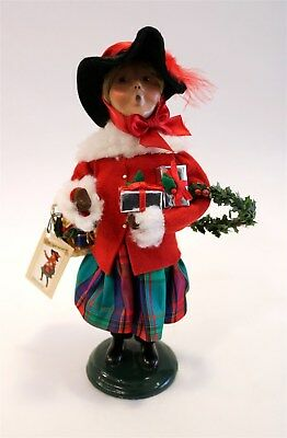 """Byers Choice 25th Anniversary Figurine The Carolers """"Victoria"""" 2003 10"""""""