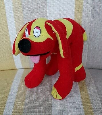 "Doodles from Tweenies red dog 5"" plush"