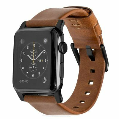 Nomad Horween Leather Strap Modern for Apple Watch 1,2,3 - 42mm - BROWN