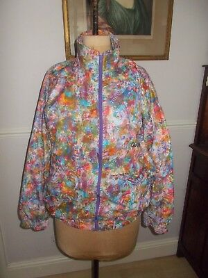 Vintage 1970's-80's Gucci tracksuit top jazzy colourful design