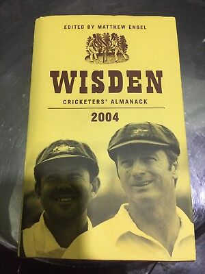 wisden cricketers almanack 2004, Unread
