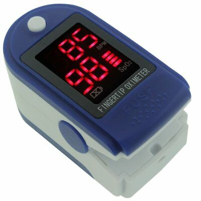 OLED Display Pulse Oximeter Fingertip Blood Oxygen Meter SPO2 Heart Rate Monito