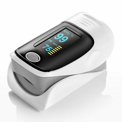 Finger Pulse Oximeter Portable Heart Rate Monitor Spo2 Blood Oxygen Saturation