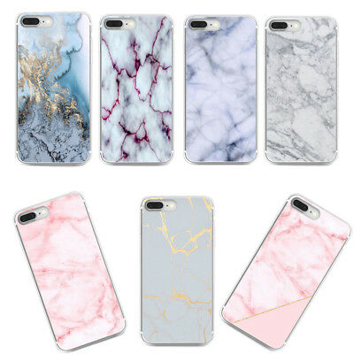 Granite Marble Texture Pattern Phone Case Soft TPU Cover for iPhone Huawei LG