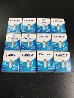 Contour 600 Diabetic Test Strips
