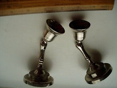Georgian Adjustable Carriage Candlesticks