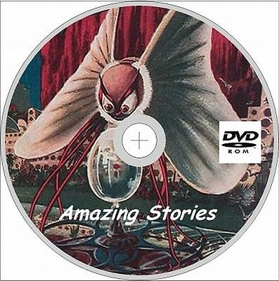 Amazing Stories Magazine  126 Assorted Issues on DVD Rom