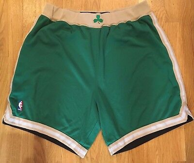 2005-06 Boston Celtics St. Patrick's Day Game Worn Shorts NBA