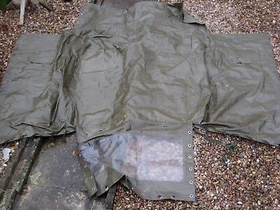 Ex Army Land Rover Wolf Vinyl Canopy Roof Cover - Soft Top Short Wheel base