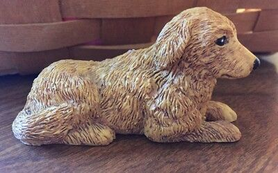 Labrador Retriever Dog Yellow Lab Figurine
