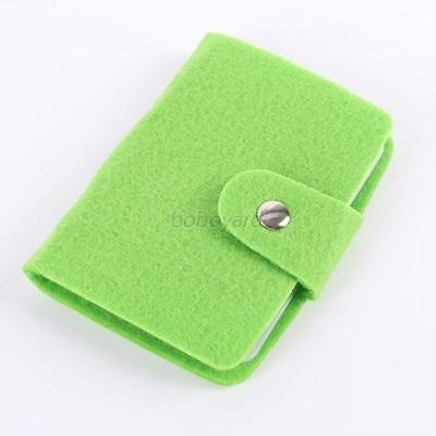 Practical Mini ID Card Case Business Card Holder Storage Case Green