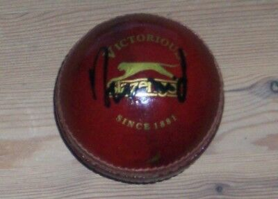 Rahul Dravid India signed cricket ball with original authentic autograph