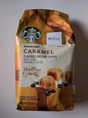 Starbucks Caramel Flavored Ground Coffee Buttery & Smooth