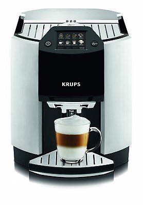 Krups EA9010 8 Cups Coffee Maker - Silver