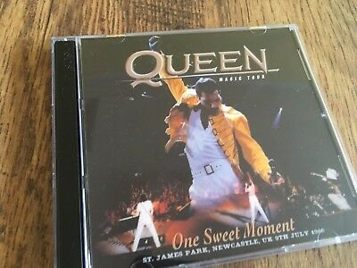 Queen Double Concert CD Newcastle 1986 Kind of Magic Tour