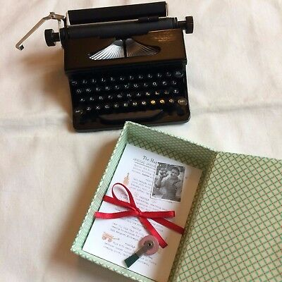American Girl Doll Kit's Typewriter with Paper New without box