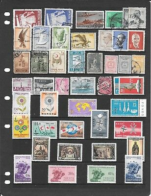 Turkey M071 Superb Collection Of Used, Mm And Umm Stamps High Value