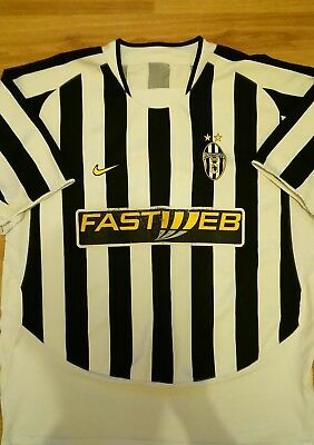 Juventus 2003/04 Home Football Shirt