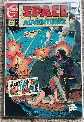 Charlton Comics - Space Adventures #4 - Bronze Age Jim Aparo