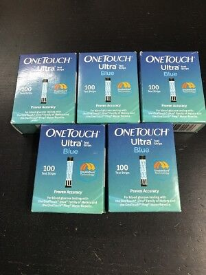 One touch Ultra Retail test strips. 500 Strips