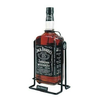 Jack Daniels 3 liter Bottle with Cradle