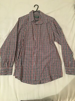 Mens Checked Shooting Shirt