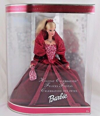 Holiday Celebration Barbie 2002 Special Edition Mattel, Foreign Import, Rare