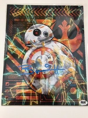 Bam Box BB-8 Limited 113/250 Metallic SS Brian Herring