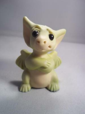 """""""Highly Skeptical"""" Whimsical World of Pocket Dragons Real Musgrave Mint"""