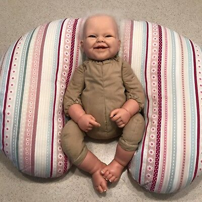 Reborn Berenguer Doll Rooted Hair & Teeth weighted baby doll Lifelike Realistic
