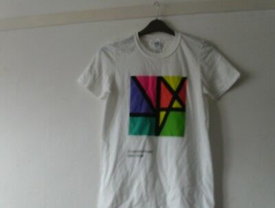New Order Complete Music Cotton T Shirt Small Chest 34 Inches Free Uk Post