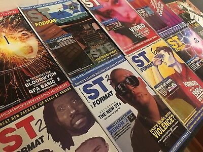 ST Format Magazine ~ Issues 1 to 9 August 1989 to April 1990 - Atari Retro Mag