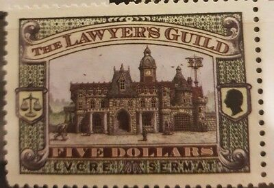 Discworld stamps 2007 $5 Lawyer's Guild
