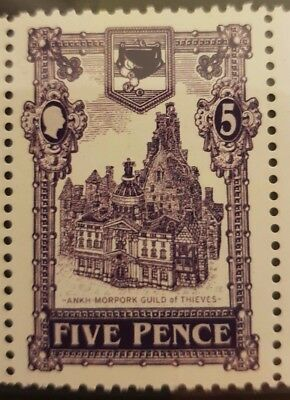 Discworld stamp 2007 Thieves Guild 5p