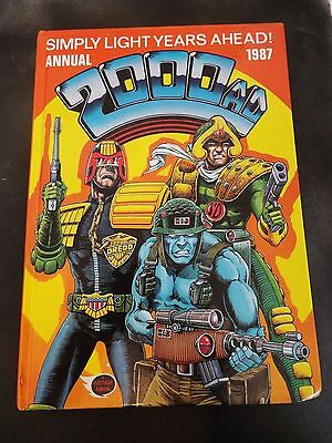 VINTAGE 80's 2000 AD 1987 ANNUAL